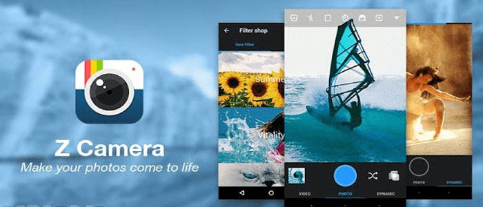 دانلود Z Camera Vip نسخه جدید برنامه زد کمرا برای اندروید
