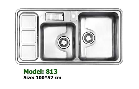 سینک توکار استیل البرز مدل 813