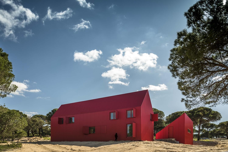 طراحی خانه ای رنگی در پرتغال