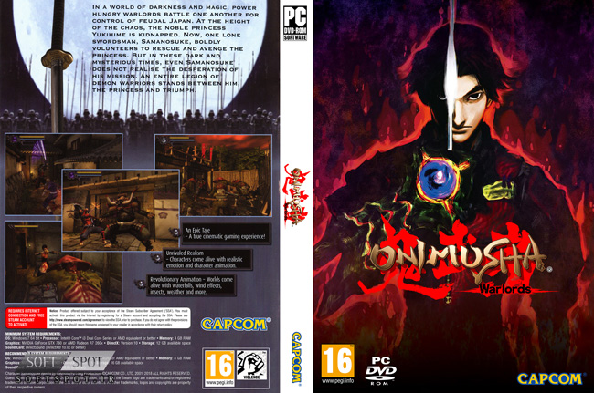 Onimusha Warlords Cover