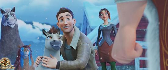 دانلود انیمیشن Elliot the Littlest Reindeer 2018 با دوبله فارسی