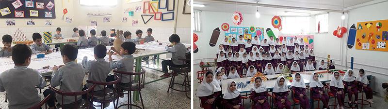 آیینه یزد - افتتاح مرکز خلاقیت در مدارس ابتدایی مجتمع آموزشی حضرت مجتبی(ع)
