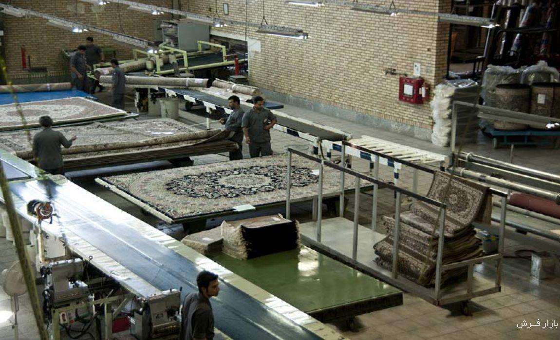 کارخانه فرش کاشان