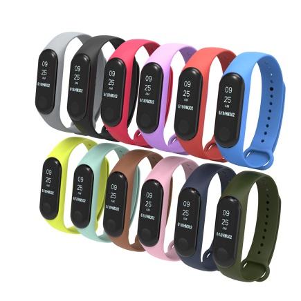 xiaomi mi band 3 color strap بند رنگی دستبند شیائومی Xiaomi Mi Band 3 Color Strap Xiaomi Mi Band 3 Color Strap