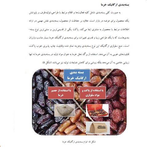 دانلود مقاله عوامل موثر بر تولید خرمای ارگانیک - خرمای ارگانیک مانا - خرمای ارگانیک چیست- خرید و فروش خرمای ارگانیک