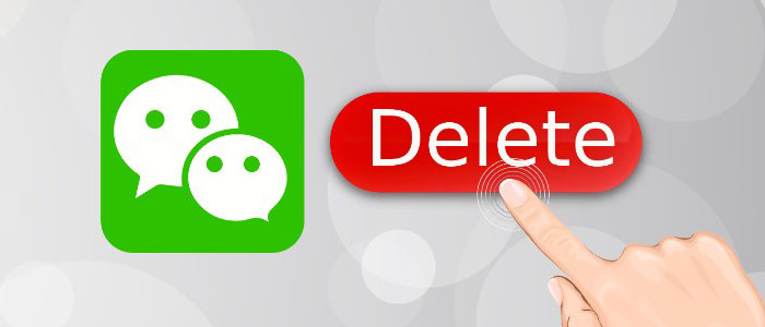 آموزش حذف اکانت پیام رسان وی چت-دلیت اکانت wechat