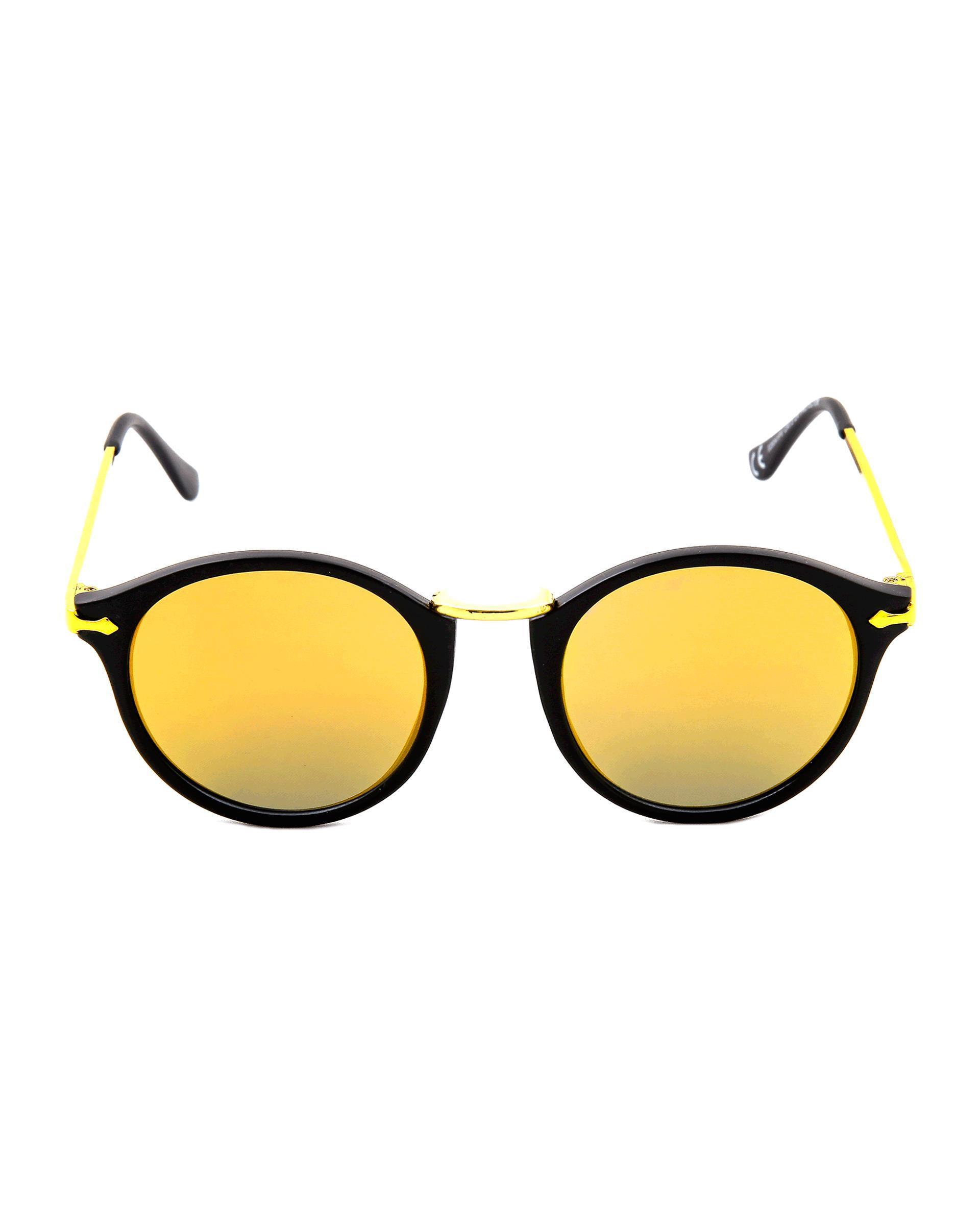 عینک آفتابی مشکی زرد Enrique