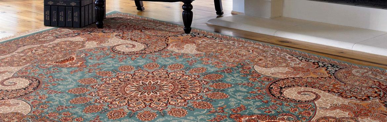 زیبایی و ظرافت فرش 1200 شانه
