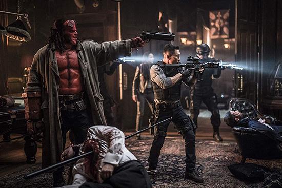 دانلود فیلم Hellboy 2019 پسر جهنمی با دوبله فارسی و سانسور نشده