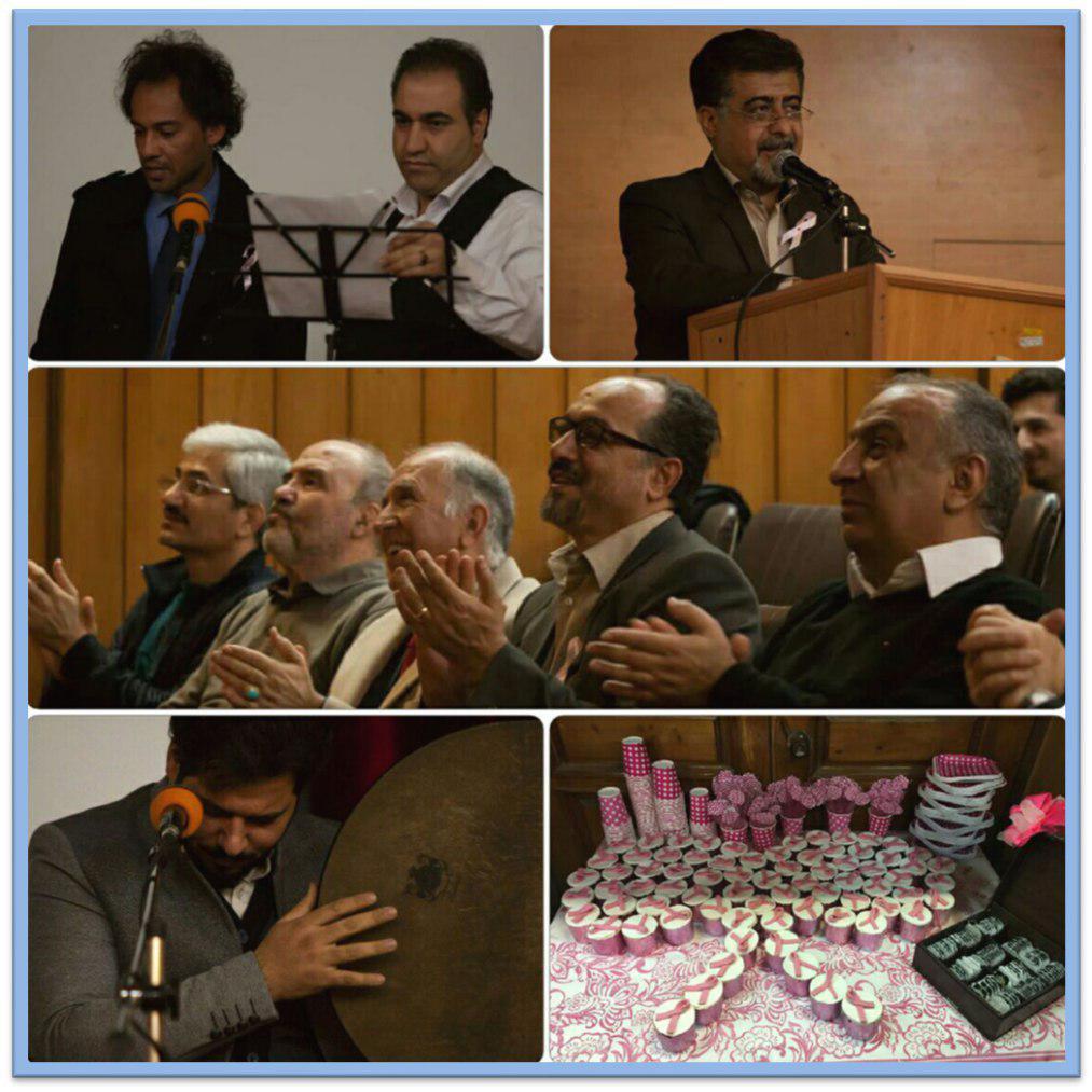 کمپین سرطان پستان ققنوس و تجلیل از پرستاران و کادر درمانی و خدماتی بخش انکولوژی بیمارستان های شهر کرمانشاه