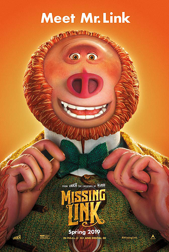 دانلود انیمیشن پیوند گمشده - Missing Link 2019