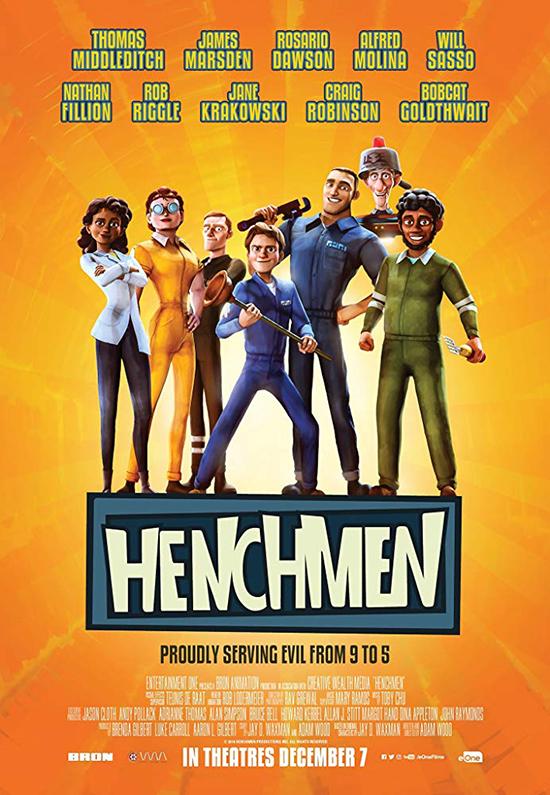 دانلود انیمیشن هنچمن - Henchmen 2018
