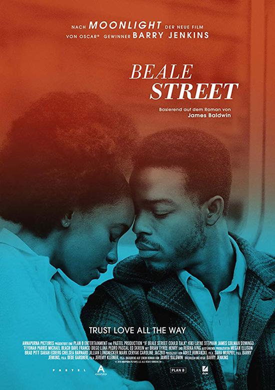 دانلود فیلم اگر خیابان بیل می توانست حرف بزند - If Beale Street Could Talk 2018