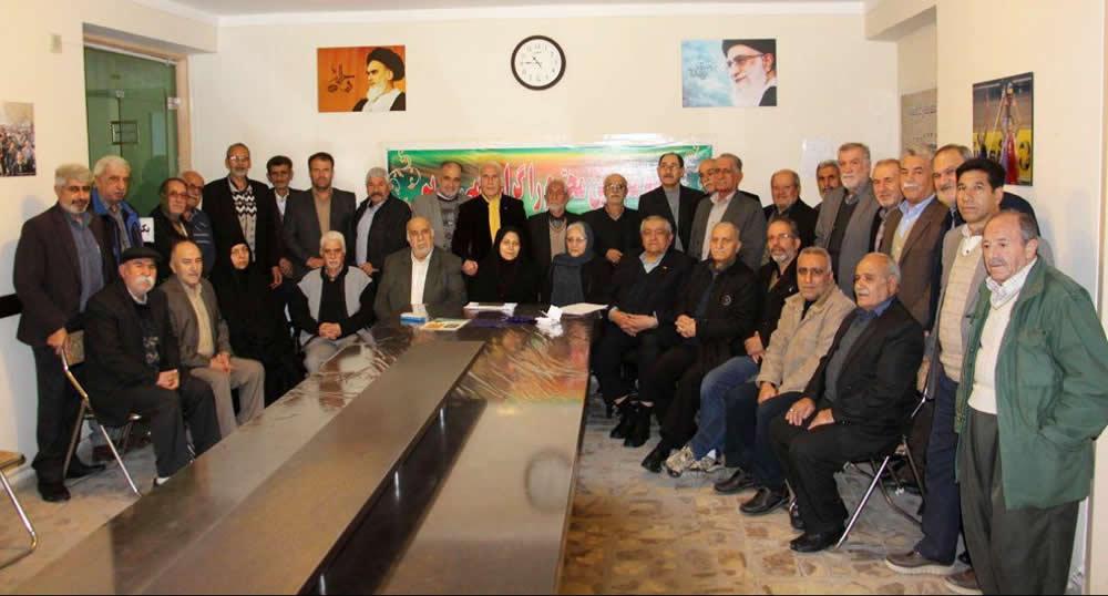 تبریک مدیرعامل انجمن پیشکسوتان ورزش به پیشکسوت آقای نادر تقی زاده