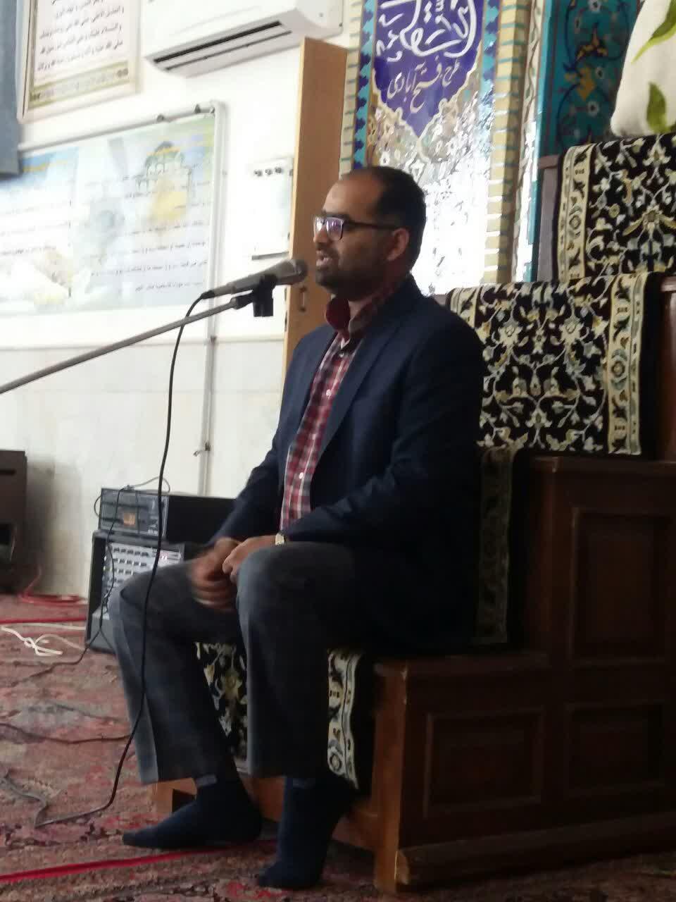 مراسم معنوی اعتکاف در حسن آباد حضرت صادق الائمه علیه السلام
