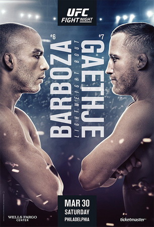 نتایج رویداد : UFC on ESPN 2: Barboza vs. Gaethje