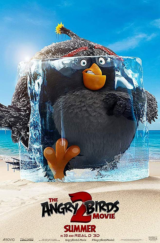 دانلود انیمیشن پرندگان خشمگین The Angry Birds Movie 2019 - 2