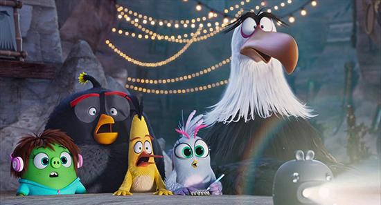 دانلود و پخش آنلاین انیمیشن The Angry Birds Movie 2 پرندگان خشمگین 2019 با دوبله فارسی