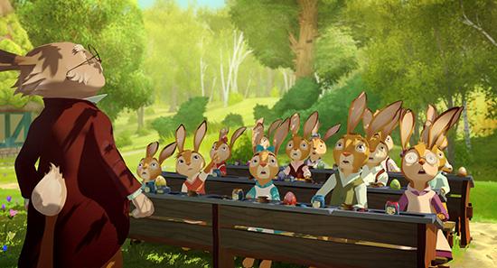 پخش آنلاین انیمیشن مدرسه خرگوش ها Rabbit School 2017 با دوبله فارسی
