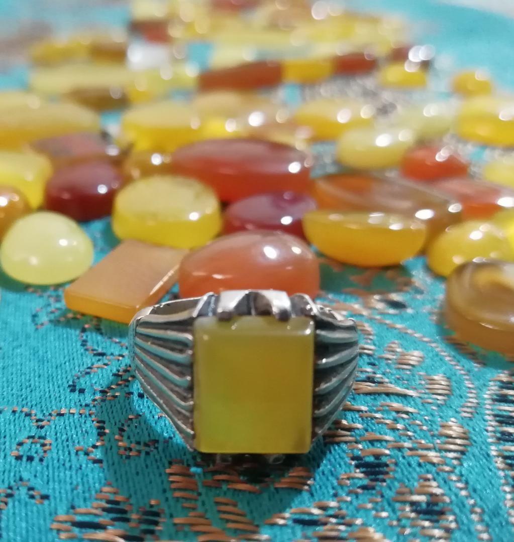 فروش انواع نگین انگشتر شرف الشمس