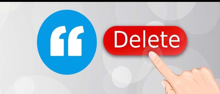 آموزش حذف اکانت در شبکه ی اجتماعی یادسا