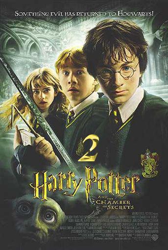 دانلود فیلم هری پاتر و تالار اسرار Harry Potter and the Chamber of Secrets 2002 فیلم دوم