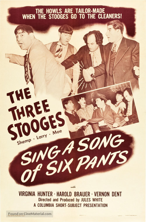 دانلود دوبله فارسی فیلم سه کله پوک (کت شلوار معجزه گر) Sing a Song of Six Pants 1947