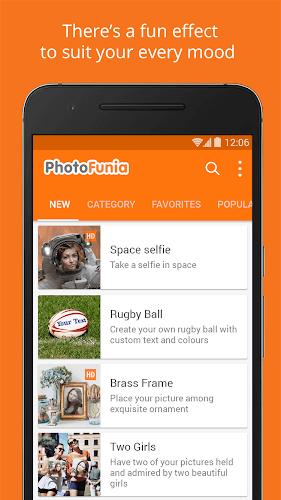 دانلود فتوفانیا PhotoFunia ایجاد افکت روی عکس اندروید