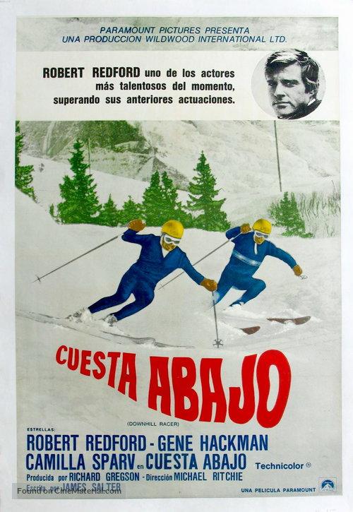 دانلود دوبله فارسی فیلم قهرمان اسکی Downhill Racer 1969