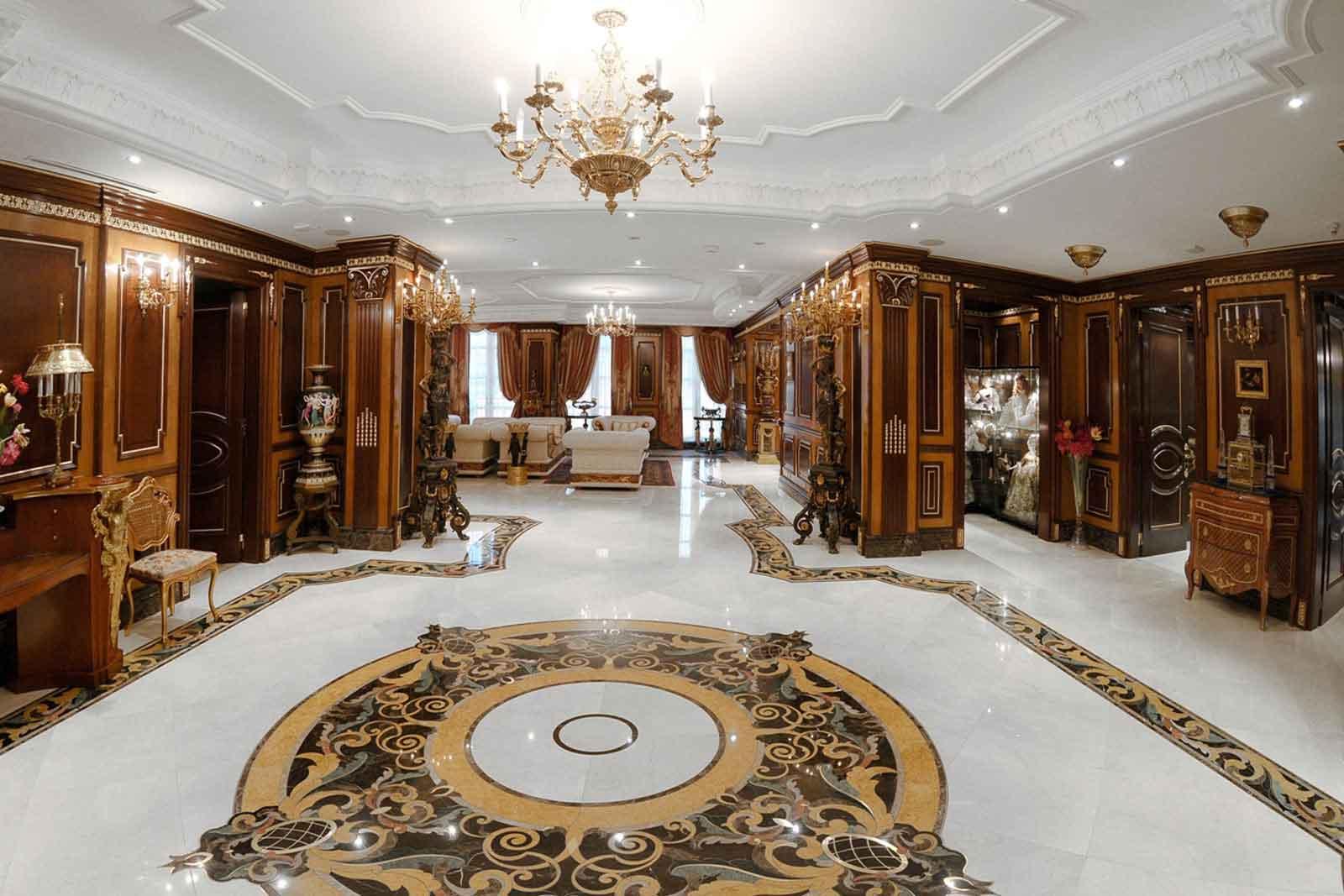 طراحی و اجرای فضاهای کلاسیک