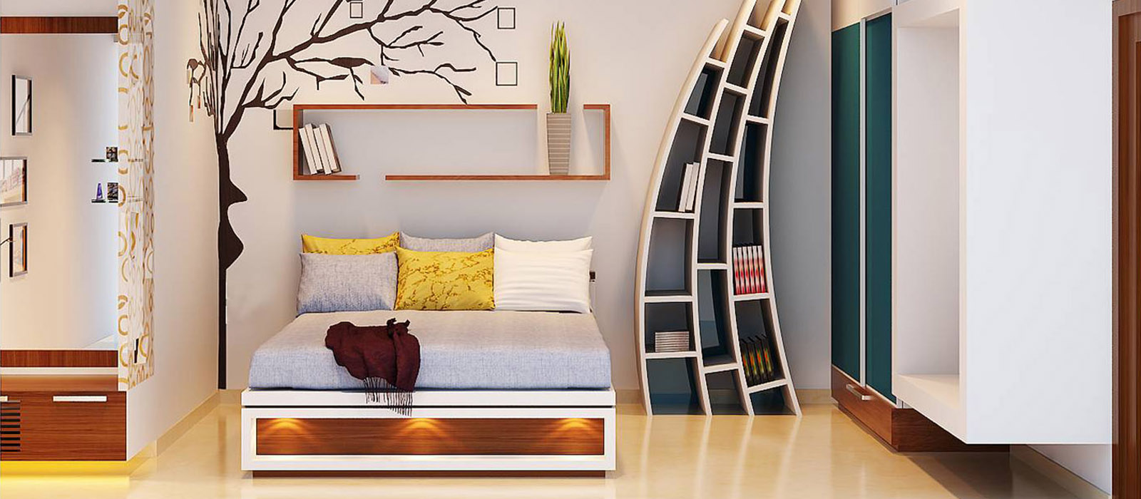 طراحی و فضاسازی مسکونی