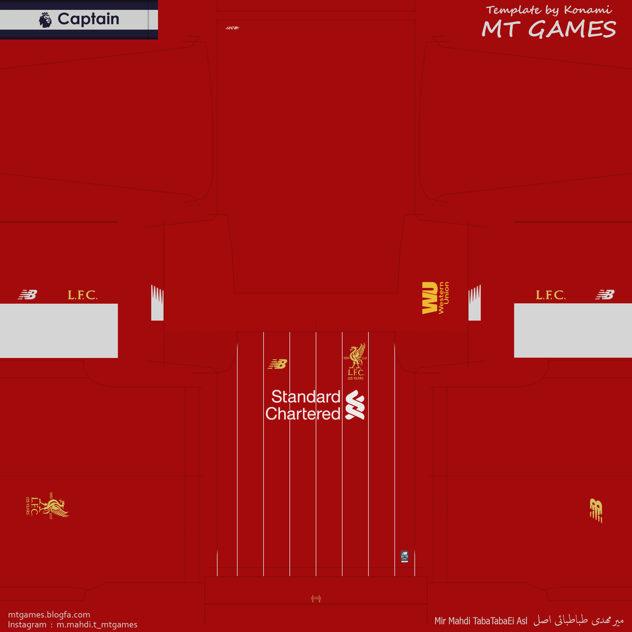 Liverpool 19-20 Home and Goalkeeper Kits by MT Games - PES Patch