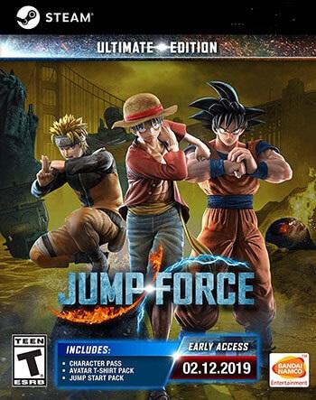 دانلود بازی JUMP FORCE برای کامپیوتر