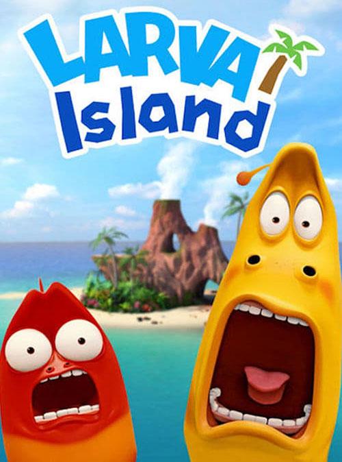 دانلود فصل اول کارتون جزیره لاروا Larva Island 2018