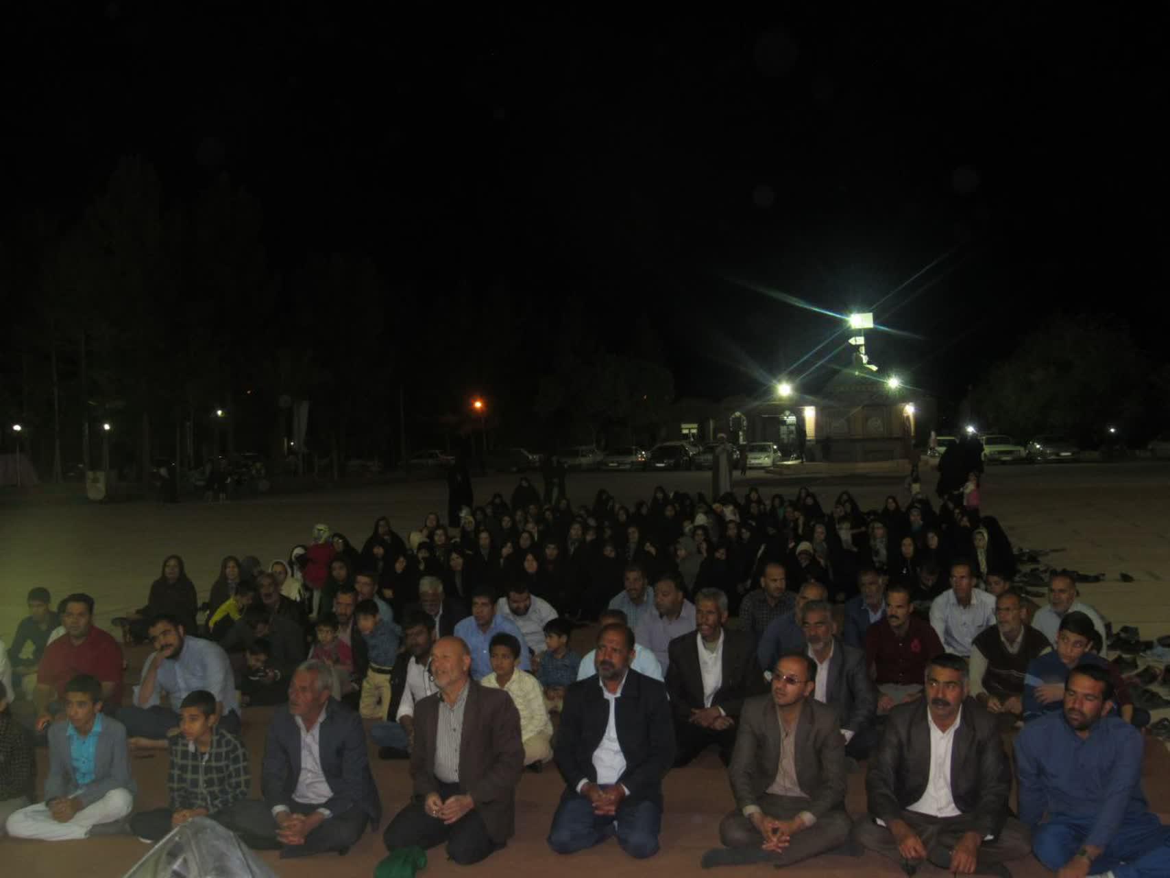مراسم جشن میلاد امام زمان(عج) در شام نیمه شعبان  در امامزاده سید جلال الدین اشرف
