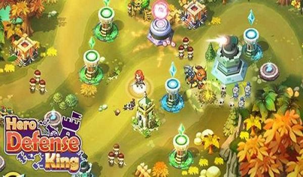 دانلود بازی Hero Defense King v1.0.29 اندروید