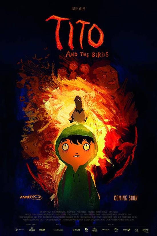 دانلود انیمیشن تیتو و پرندگان - Tito And The Birds 2018