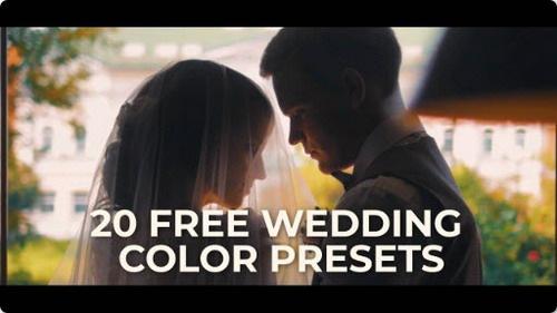 دانلود رایگان پریست های رنگی پریمیر مخصوص میکس فیلم عروسی