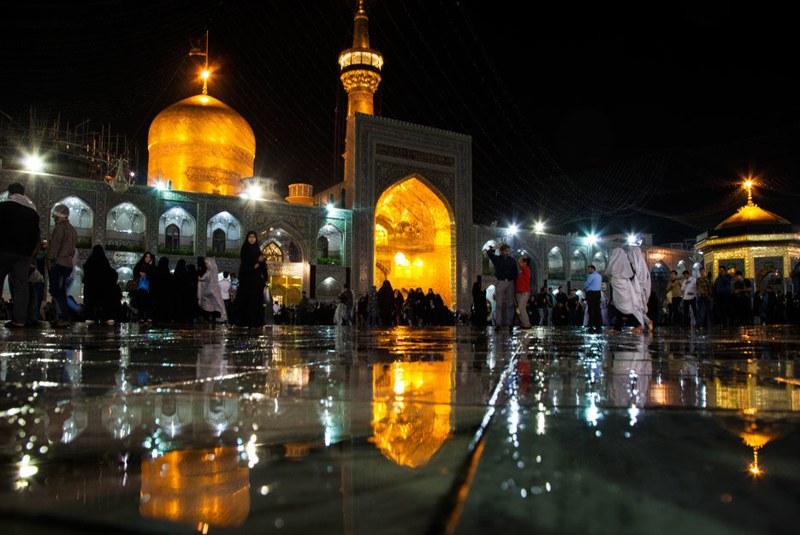 زمان سفر به مشهد