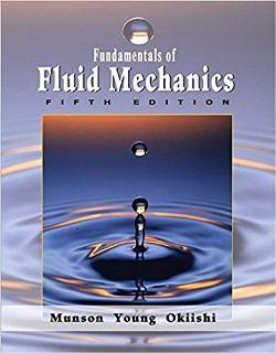 دانلود رایگان حل المسائل مکانیک سیالات مانسون ویرایش 5