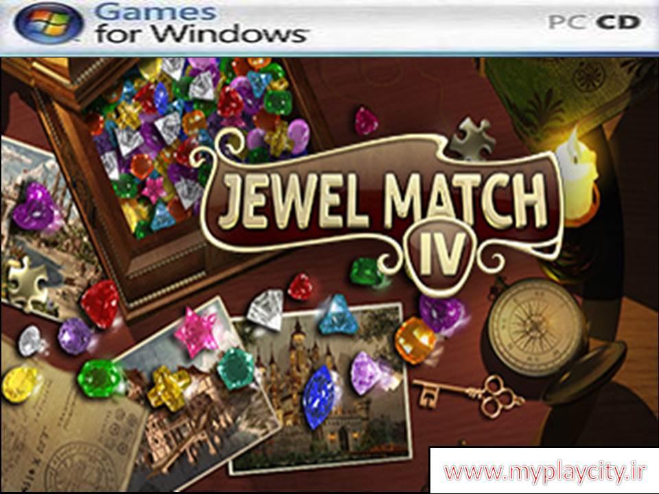 دانلود بازی jewel match 4 برای کامپیوتر