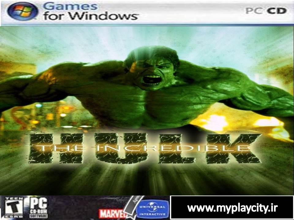 دانلود بازی هالک برای کامپیوتر