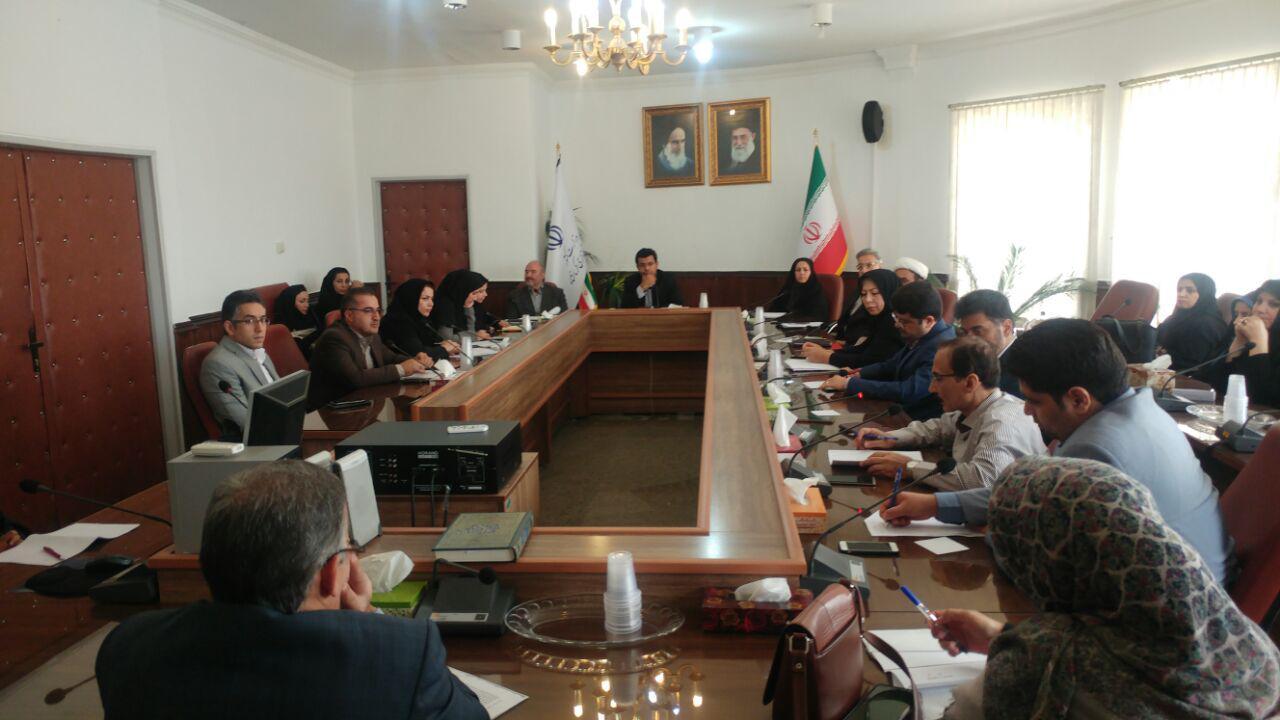 اولین جلسه کمیته بیماران خاص و صعب العلاج استان کرمانشاه در سال 98