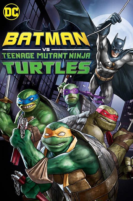 دانلود انیمیشن بتمن علیه لاک پشت های نینجا - batman VS Mutant Ninja Turtles 2019