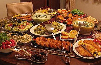 تاریخچه آشپزی در ایران