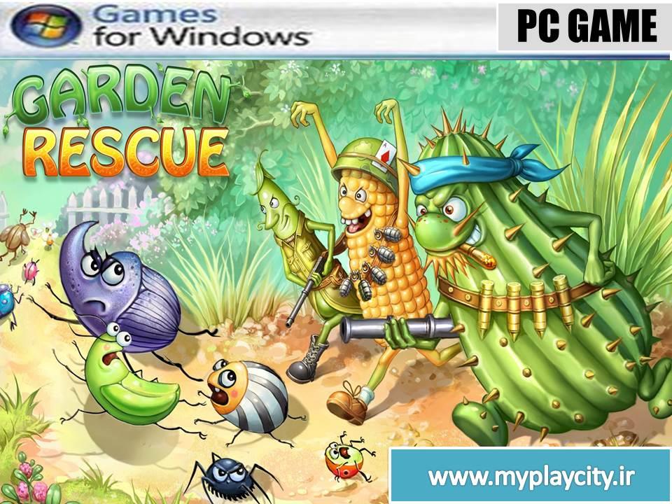 دانلود بازی Garden Rescue برای کامپیوتر