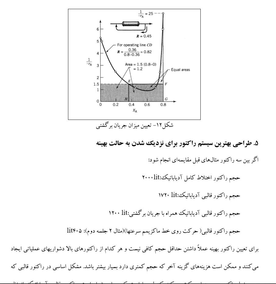 دانلود رایگان کتاب طراحی راکتورهای شیمیایی pdf مرتضی سهرابی حل المسائل دانلود جزوه طراحی راکتور پیشرفته pdf