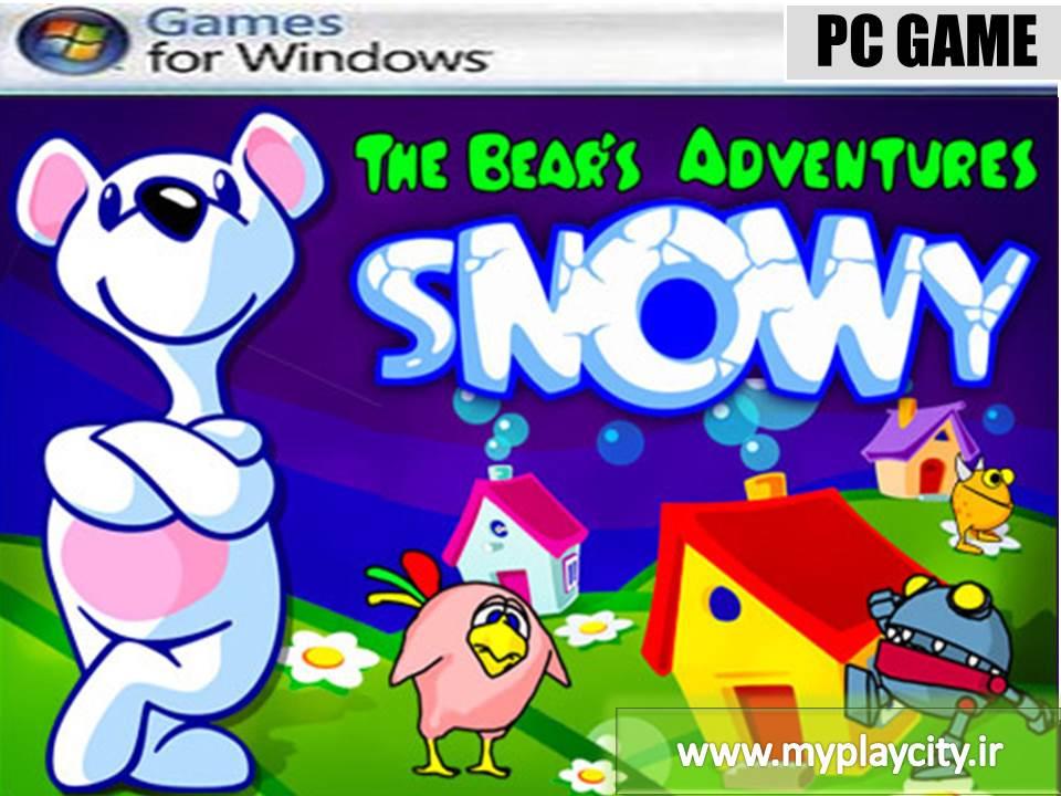 دانلود بازی Snowy The Bear's Adventures برای کامپیوتر