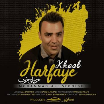 دانلود آهنگ جدید محمد علی صدیقی به نام حرفای خوب