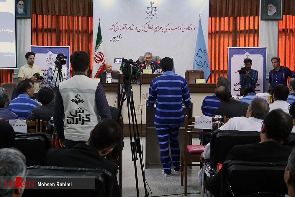 هفتمین جلسه رسیدگی به اتهامات متهمان پرونده پدیده شاندیز